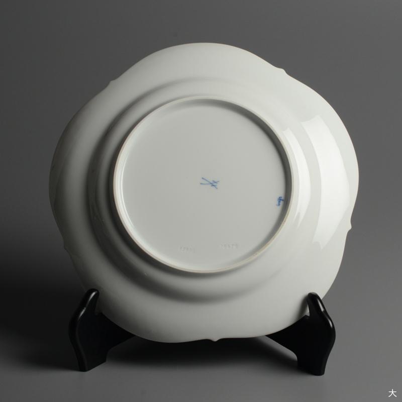 皿/プレート Meissen/マイセン Limoges/リモージュ ホワイトレリーフ 計5点(2種)まとめて 白 ルードヴィッヒ・ツェプナー ヴィンテージ_画像10