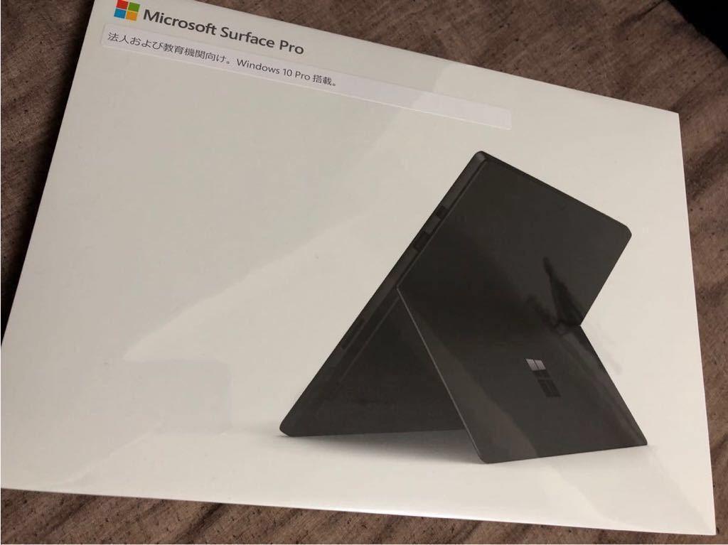 【新品】Surface Pro 6 LQ6-00025 corei5 256GB Mem8GB