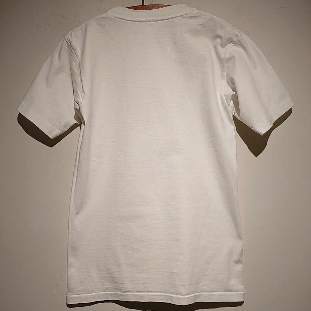 90s ビンテージ NORMAN ROCKWELL ノーマン ロックウェル Tシャツ アート t アメリカ usa 製 白 S プリント 古着_画像9