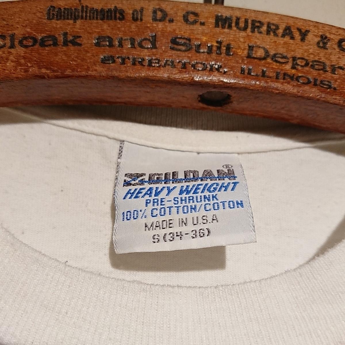 90s ビンテージ NORMAN ROCKWELL ノーマン ロックウェル Tシャツ アート t アメリカ usa 製 白 S プリント 古着_画像8