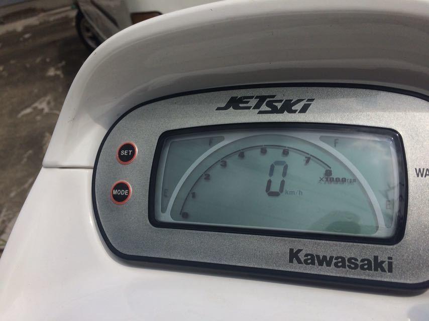 カワサキ STX1200R 白 中間検査切れ 名義変更可能です_画像8