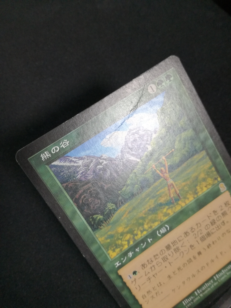 MTG 熊の谷 ODY 日本語版 2枚セット プレイド_画像3