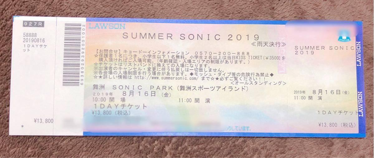 SUMMER SONIC2019 8/16(金)大阪