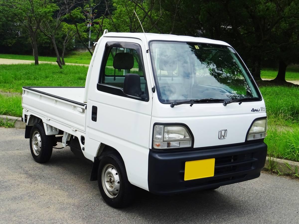 ★ 4WD ♪ エアコン ♪ 後期型 アクティトラック ♪ HA4