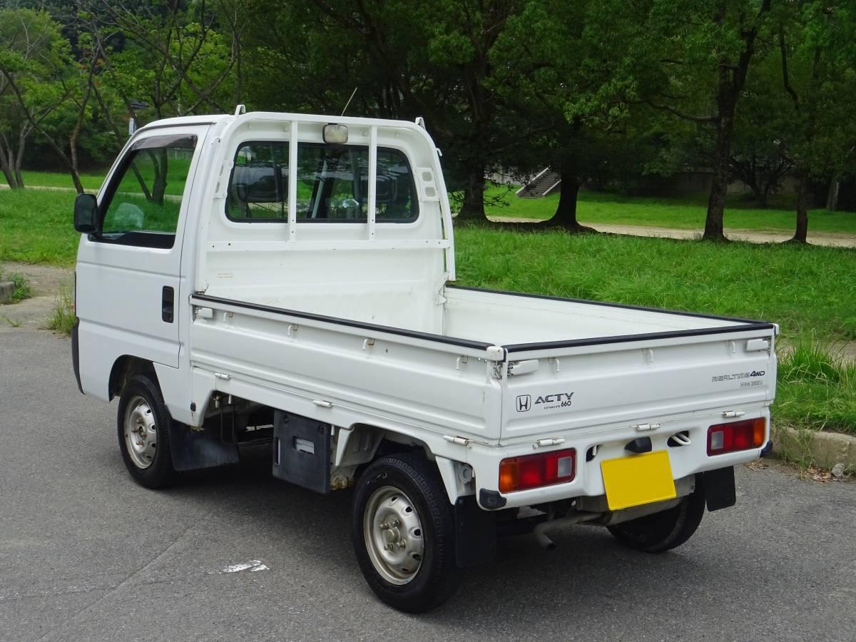 ★ 4WD ♪ エアコン ♪ 後期型 アクティトラック ♪ HA4_画像3