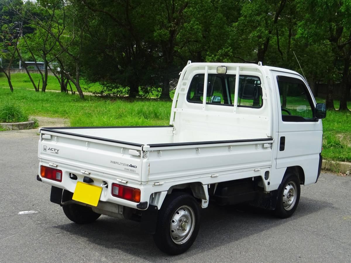 ★ 4WD ♪ エアコン ♪ 後期型 アクティトラック ♪ HA4_画像4