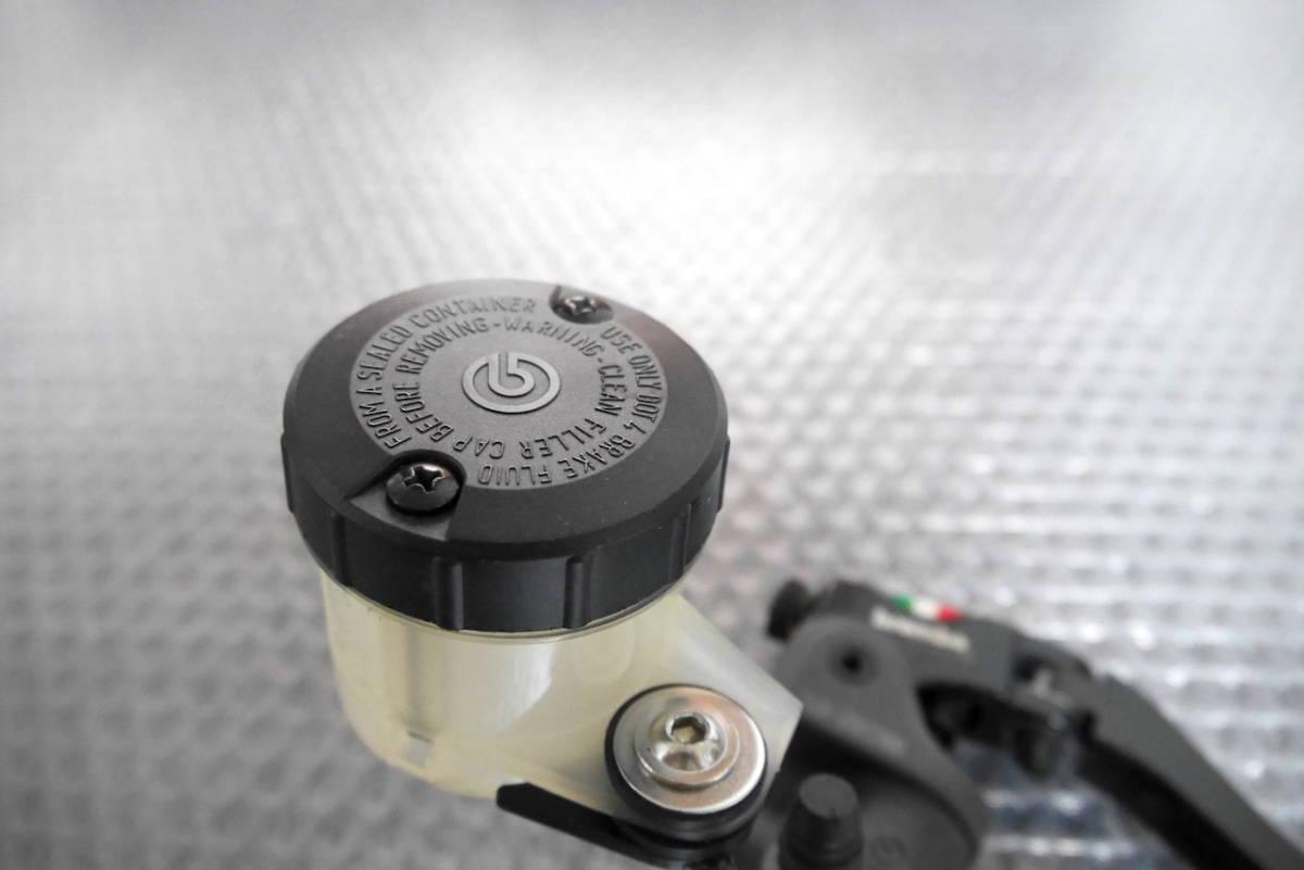 brembo 17RCS ブレンボ ラジアルブレーキマスター タンク ステー スイッチ付き USED品 ショートレバー_画像8