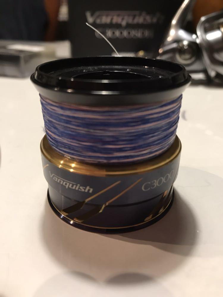 [極美品]シマノ 16 ヴァンキッシュ C3000SDH リブレハンドル 替えスプール ライン付_画像8