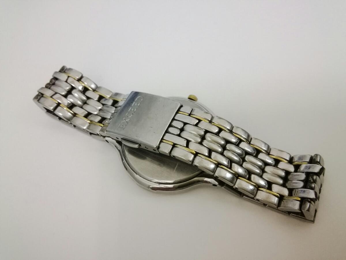 ソーラー充電 エコドライブ メンズ腕時計 シチズン EXCEED エクシード A780-H24482 動作品 AM-0702★50_画像3