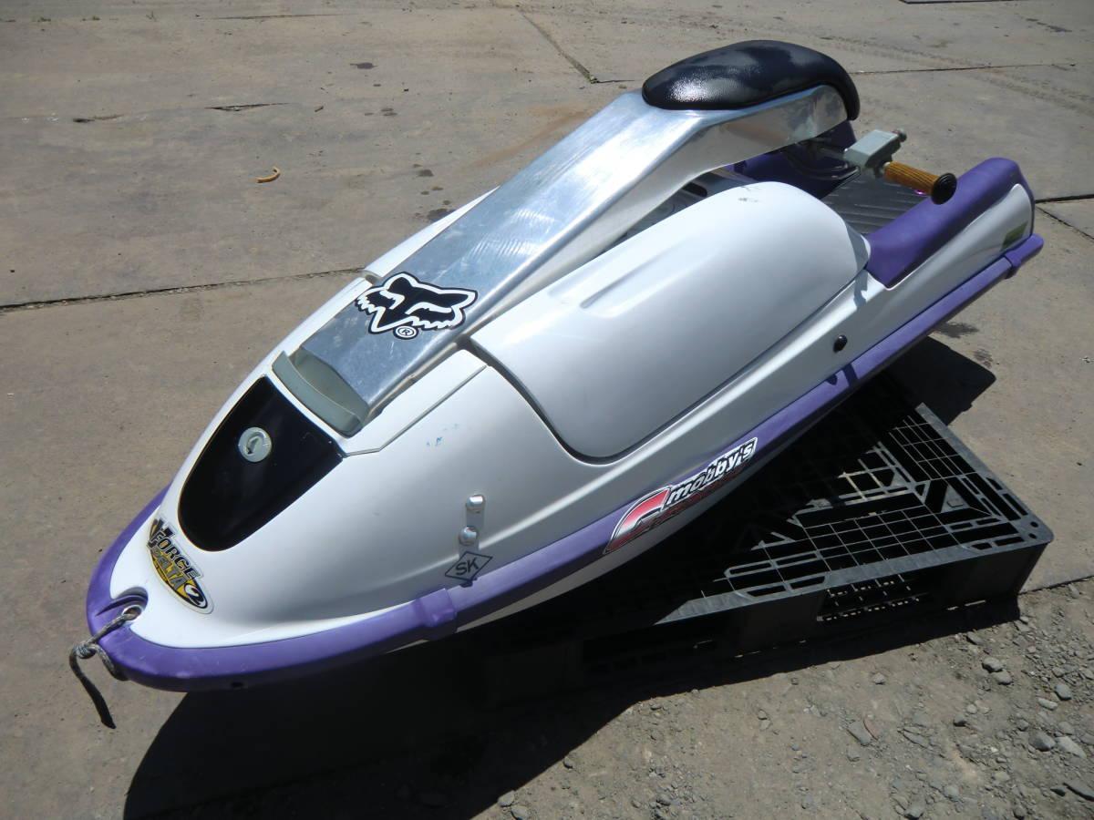 ◆ カワサキ ジェットスキー JS750C 書類無し 初爆のみ確認 水上バイク 現状 部品取り ジャンク扱い 青森~