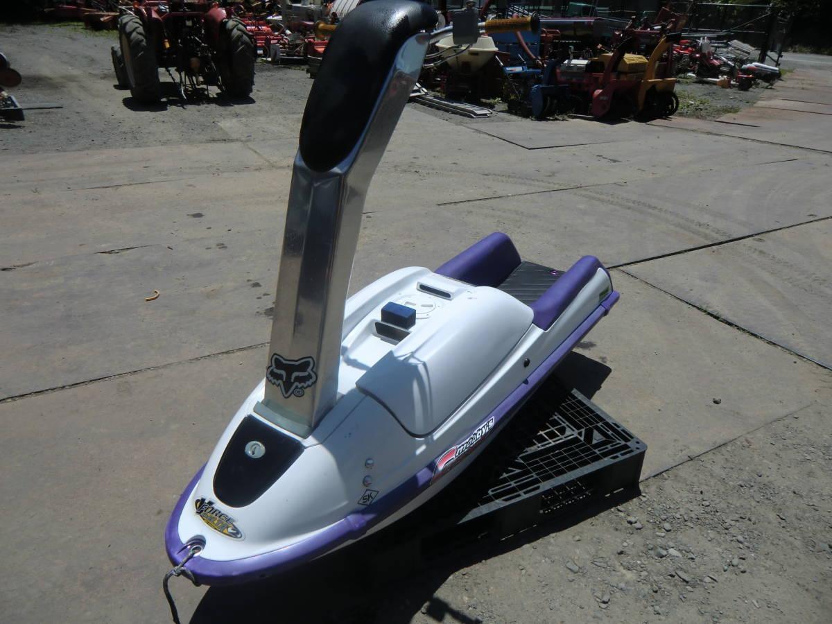 ◆ カワサキ ジェットスキー JS750C 書類無し 初爆のみ確認 水上バイク 現状 部品取り ジャンク扱い 青森~ _画像3