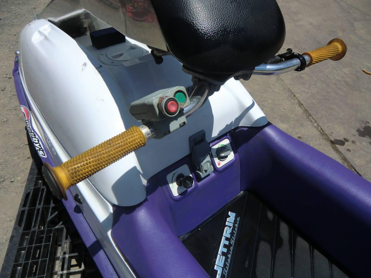 ◆ カワサキ ジェットスキー JS750C 書類無し 初爆のみ確認 水上バイク 現状 部品取り ジャンク扱い 青森~ _画像4