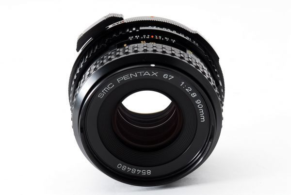 ◆極上品◆SMC PENTAX 67 90mm F2.8 後期型 中判 6x7 67 6×7レンズ 【#eg1609】_画像5