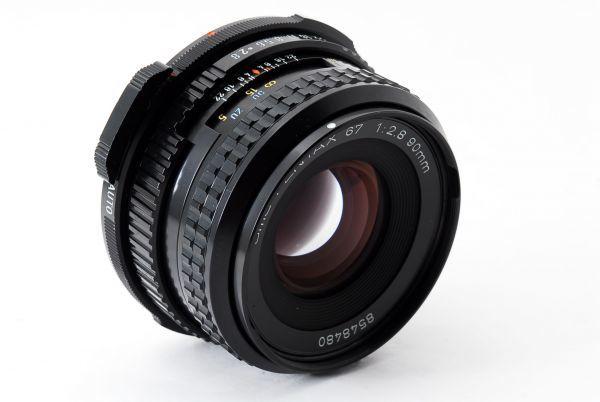 ◆極上品◆SMC PENTAX 67 90mm F2.8 後期型 中判 6x7 67 6×7レンズ 【#eg1609】_画像2