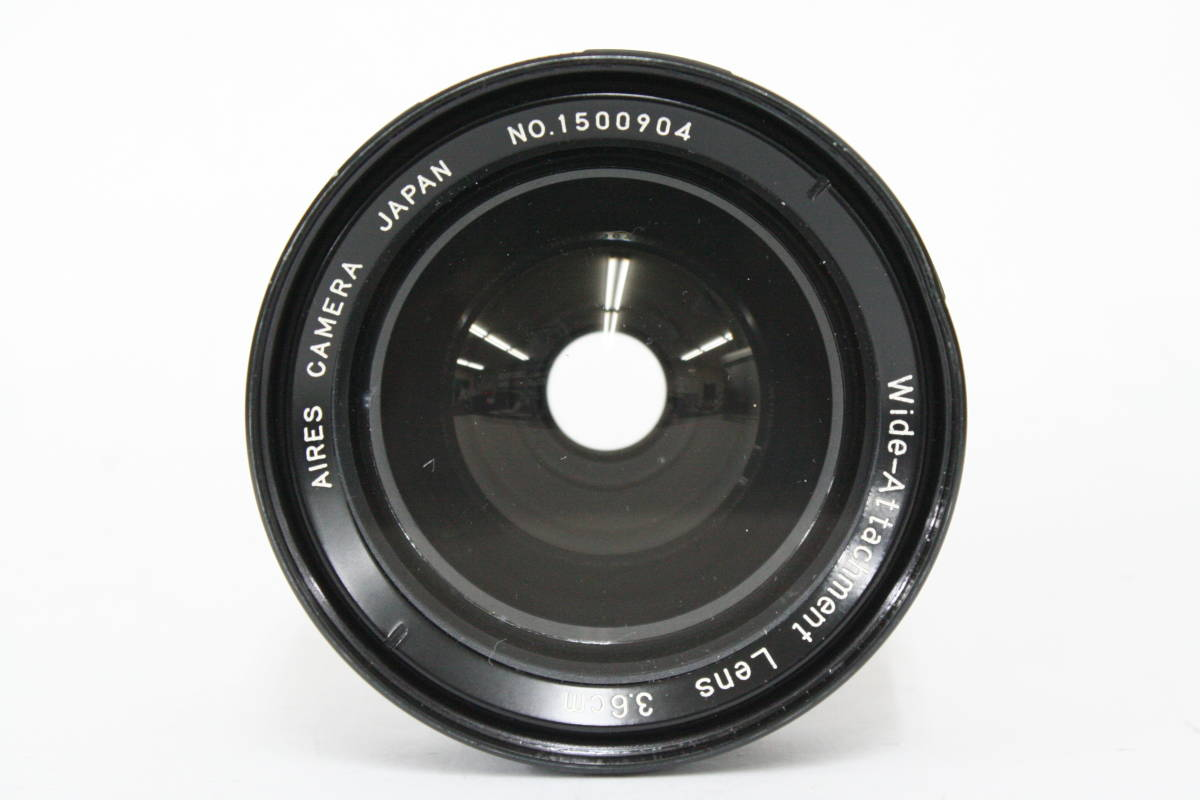 AIRES Wide-Attachment Lens 3.6cm_画像3