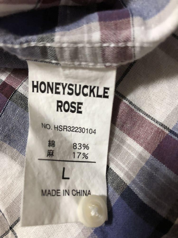 シャツ ブラウス HONEYSUCKLE ROSE