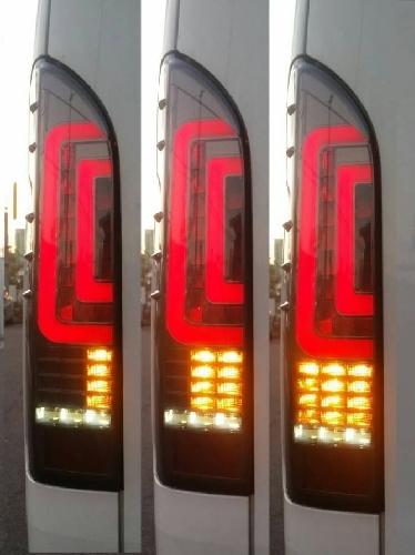 1円~ 流れるウインカー加工 ハイエース 動画あり シーケンシャル テールライト 200系 テールランプ フルLED