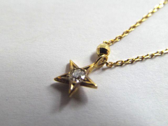 ★WISH UPON A STAR /ウィッシュ アポン ア スター ◎K18 /天然ダイヤモンド アンクレット 1.9g_画像3
