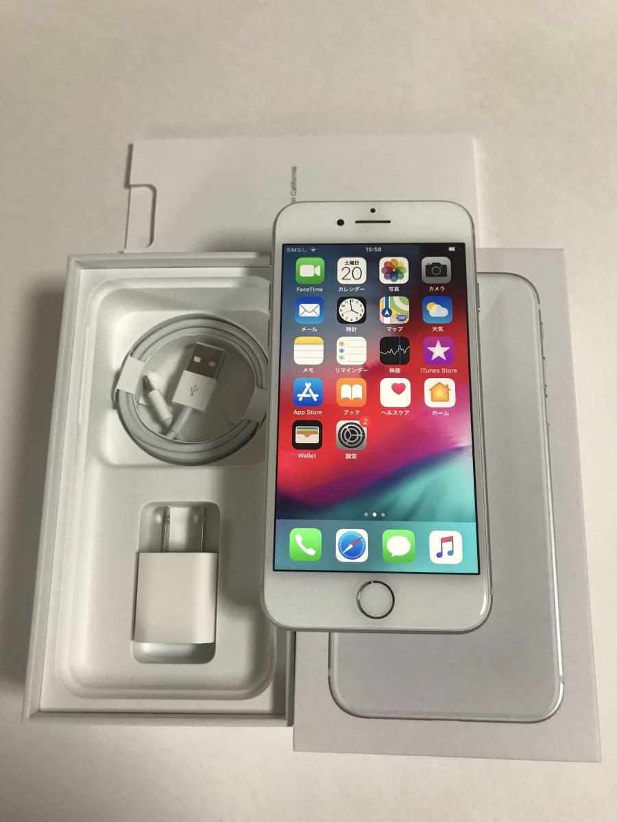 【超美品・電池良好】 SIMフリー iPhone8 64GB Silver