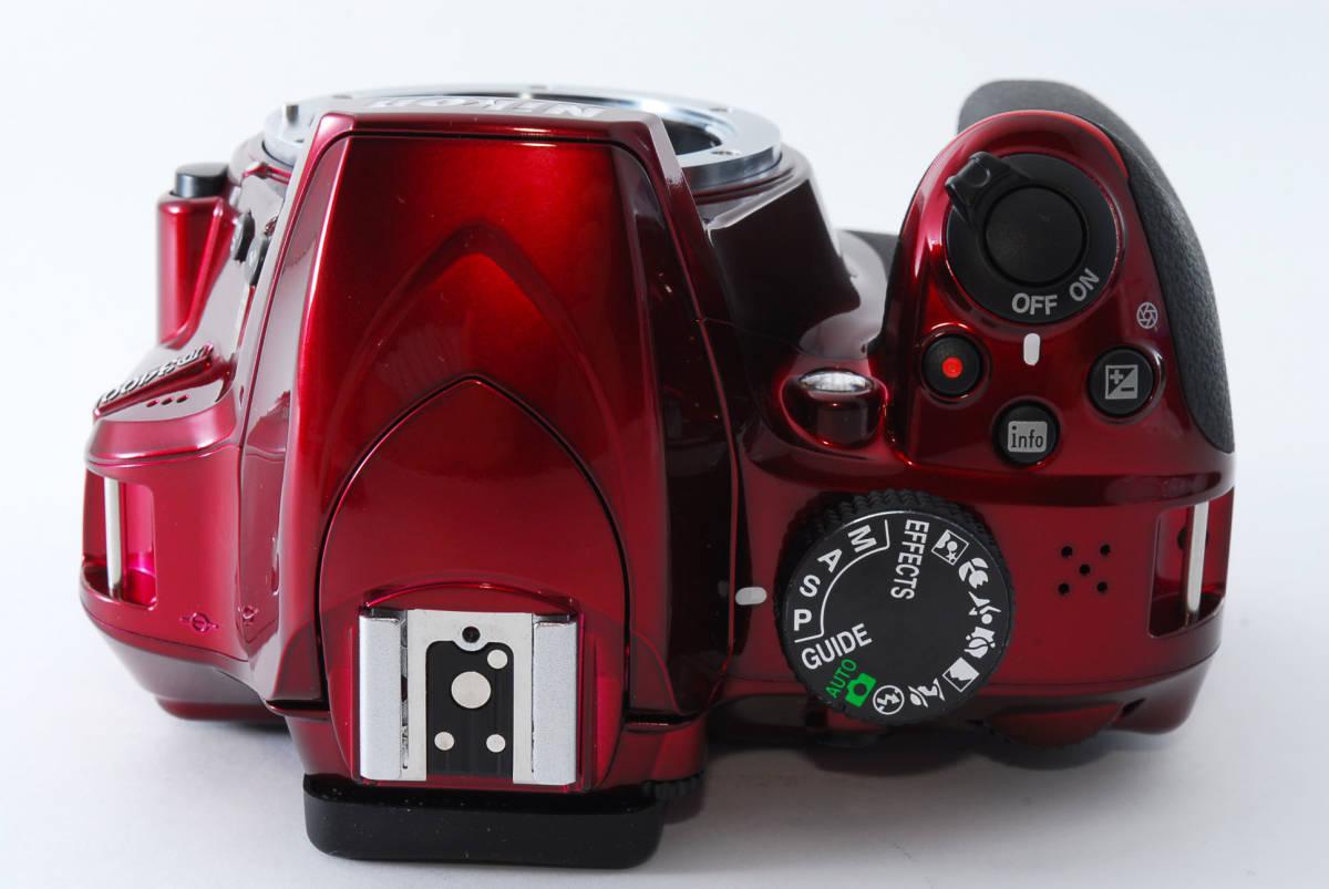 Nikon ニコン D3400 ボディ RED レッド ★超美品★ #467_画像4