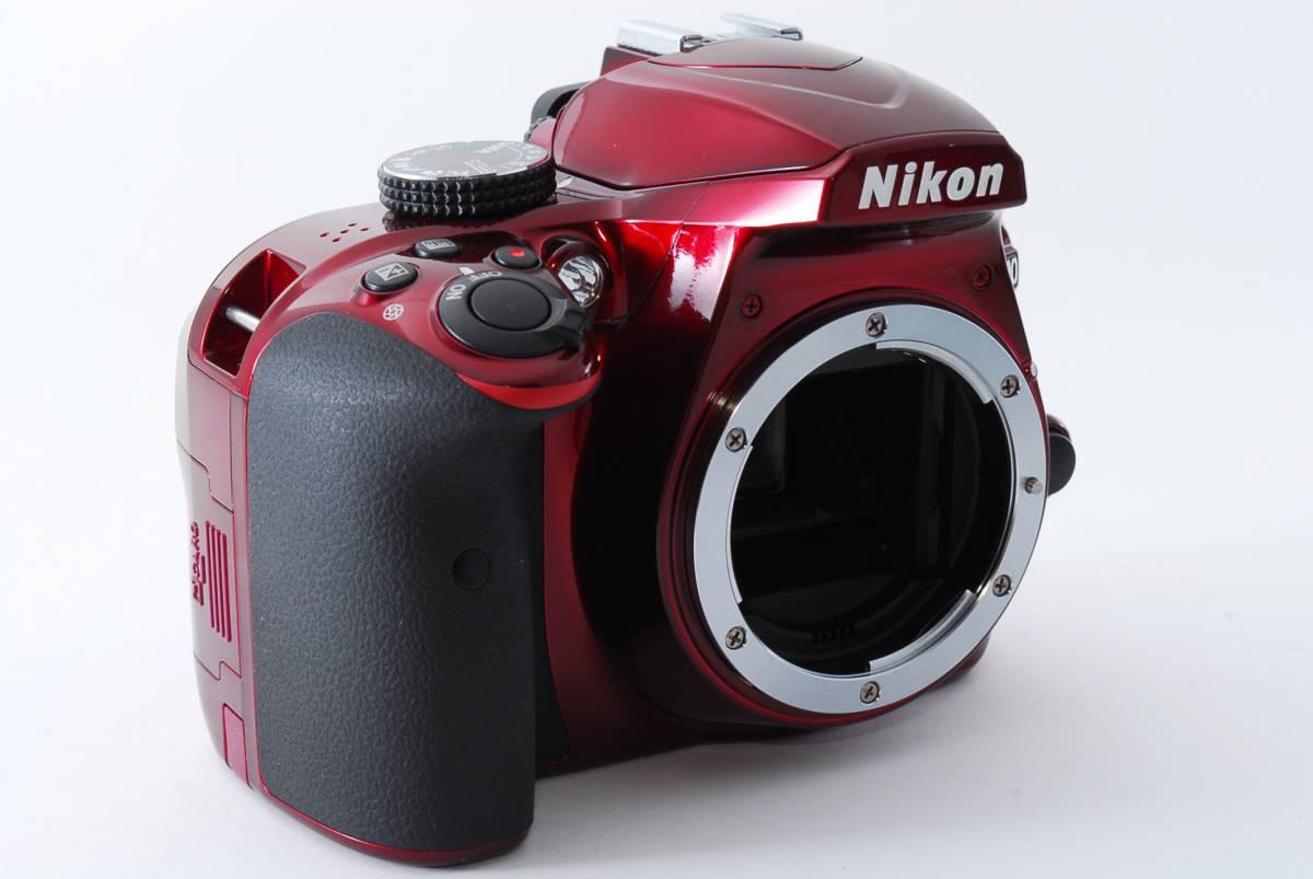 Nikon ニコン D3400 ボディ RED レッド ★超美品★ #467_画像3