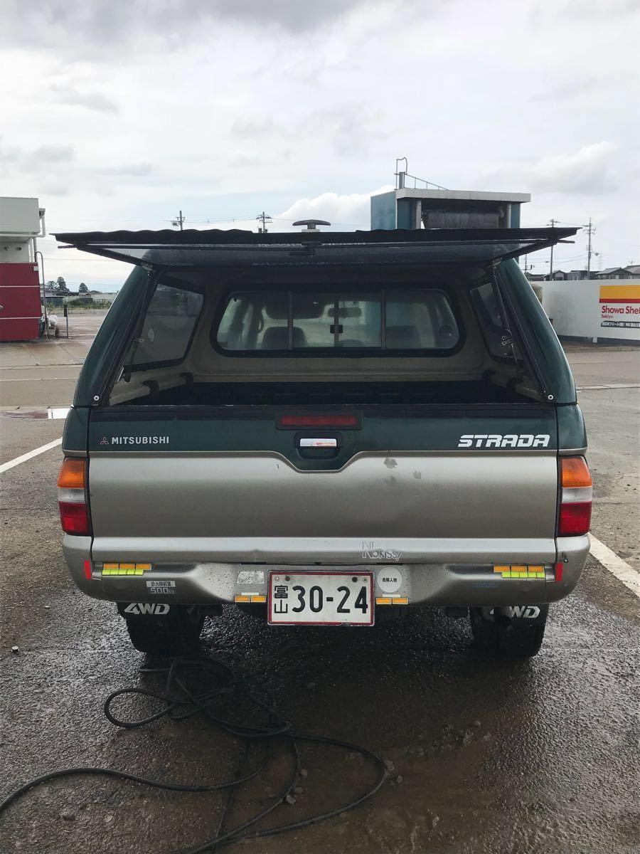 三菱 ストラーダ ピックアップ 4WD ディーゼル車 ハイラックス ダットサン 希少_画像4