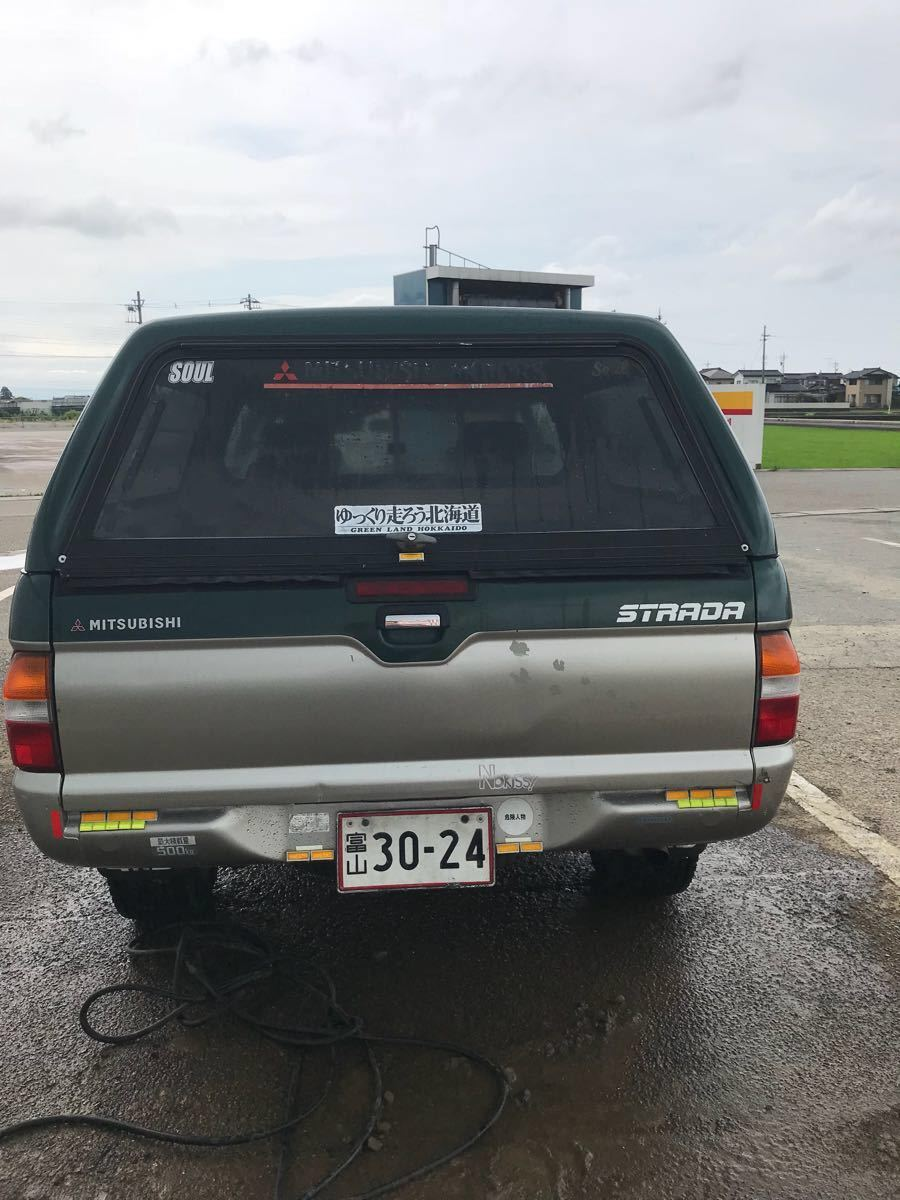 三菱 ストラーダ ピックアップ 4WD ディーゼル車 ハイラックス ダットサン 希少_画像9