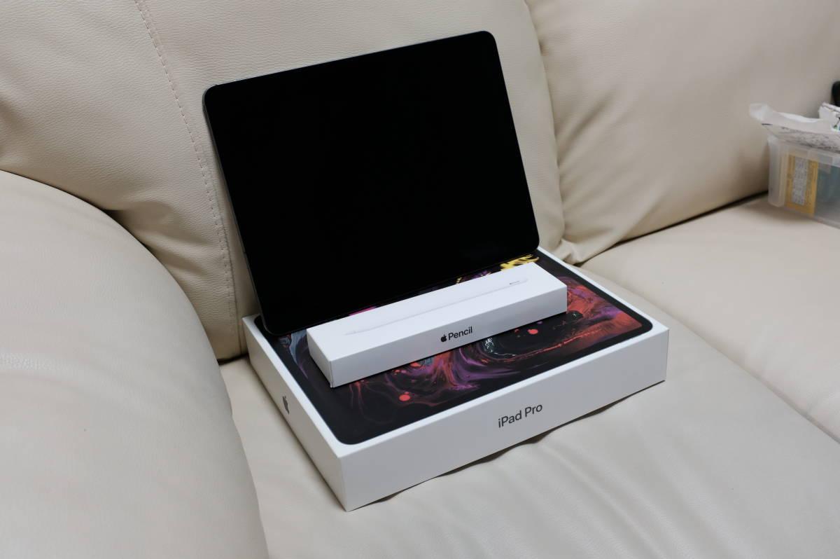 12.9インチiPad Pro スペースグレイ 1TB Wi-Fi + Cellularモデル、ApplePencil