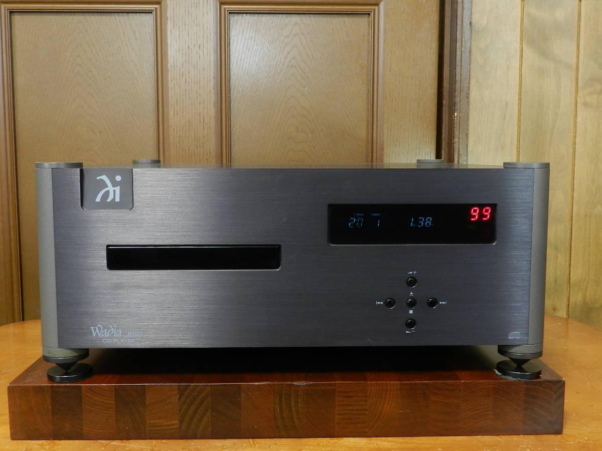 Wadia Digital// Wadia 850 STD 元箱 取説 リモコン付属// 正規輸入品//動作確認済.美品です。発売価格¥1.050.000