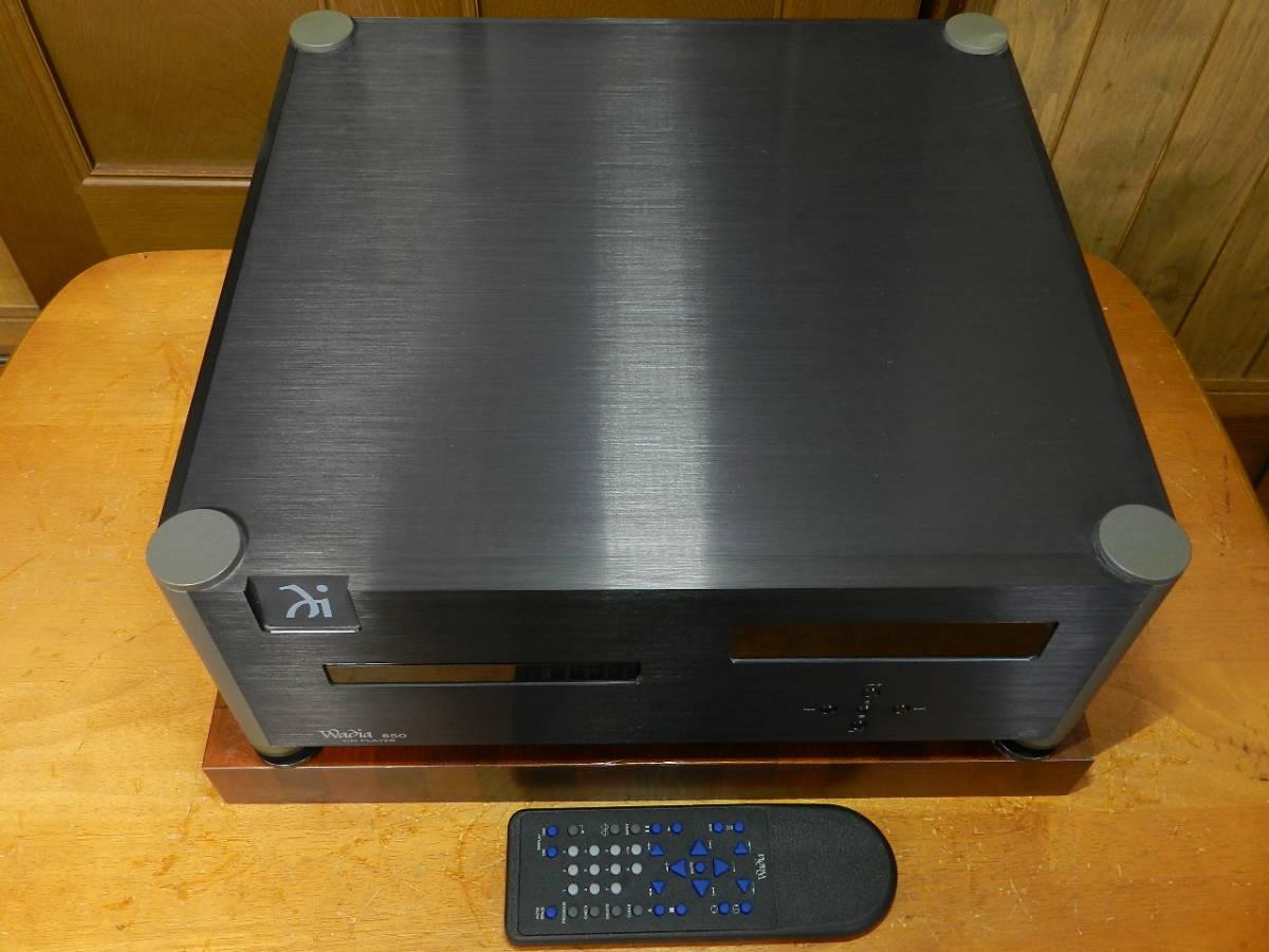 Wadia Digital// Wadia 850 STD 元箱 取説 リモコン付属// 正規輸入品//動作確認済.美品です。発売価格¥1.050.000_画像5