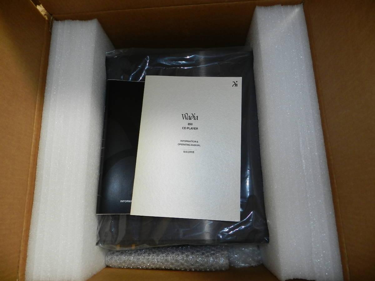 Wadia Digital// Wadia 850 STD 元箱 取説 リモコン付属// 正規輸入品//動作確認済.美品です。発売価格¥1.050.000_画像8