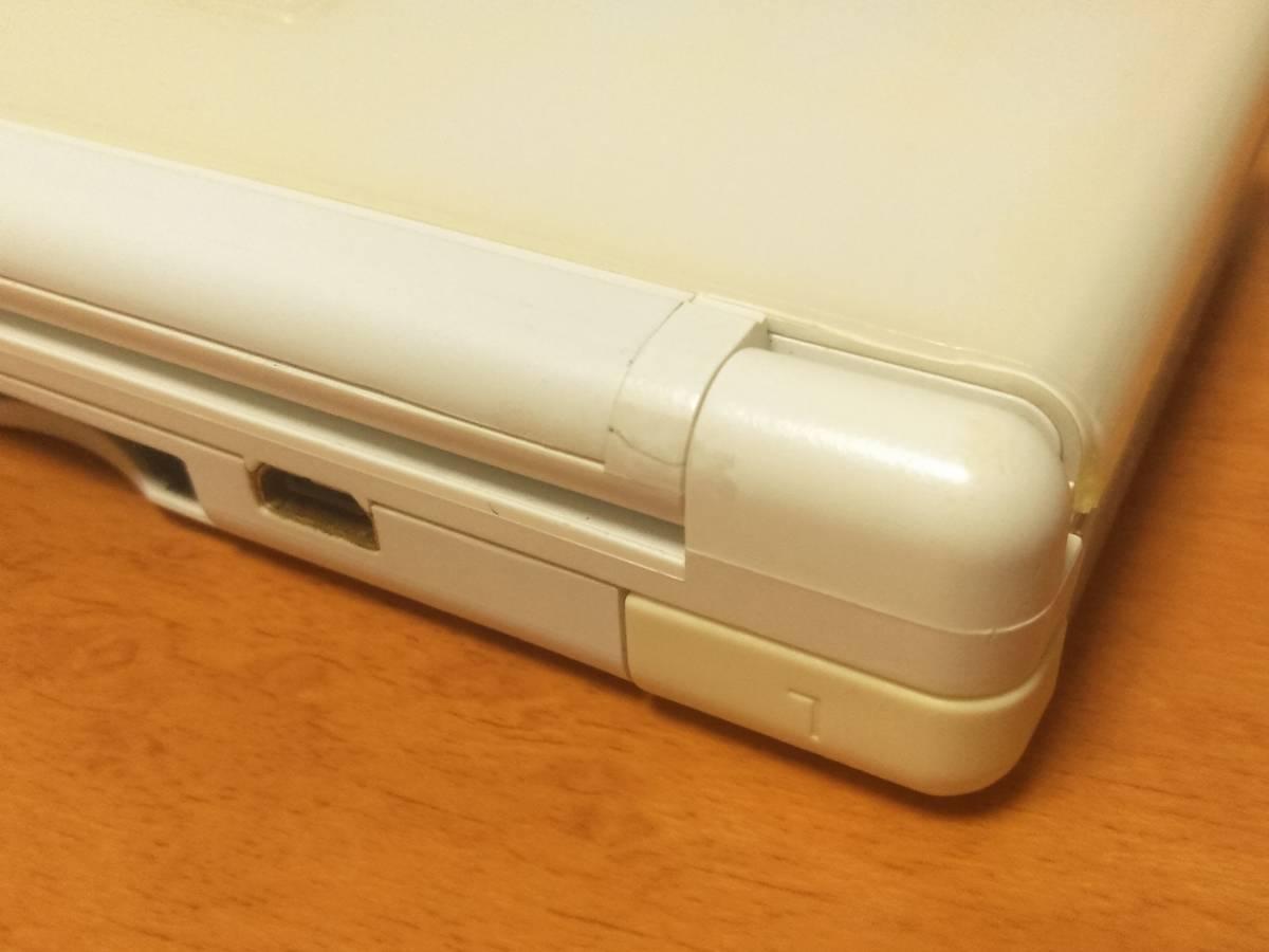 Lite クリスタルホワイト 中古 完動品 貴重下液晶フィルター付き 人気色 売切 送料安! 即決あり 同梱可能 _画像2