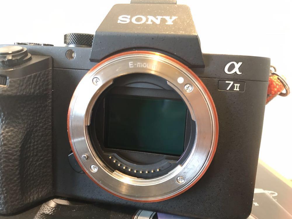 美品 SONY α7Ⅱ ボディ ILCE-7M2 デジタル一眼カメラ オマケ多数! ソニー_画像3