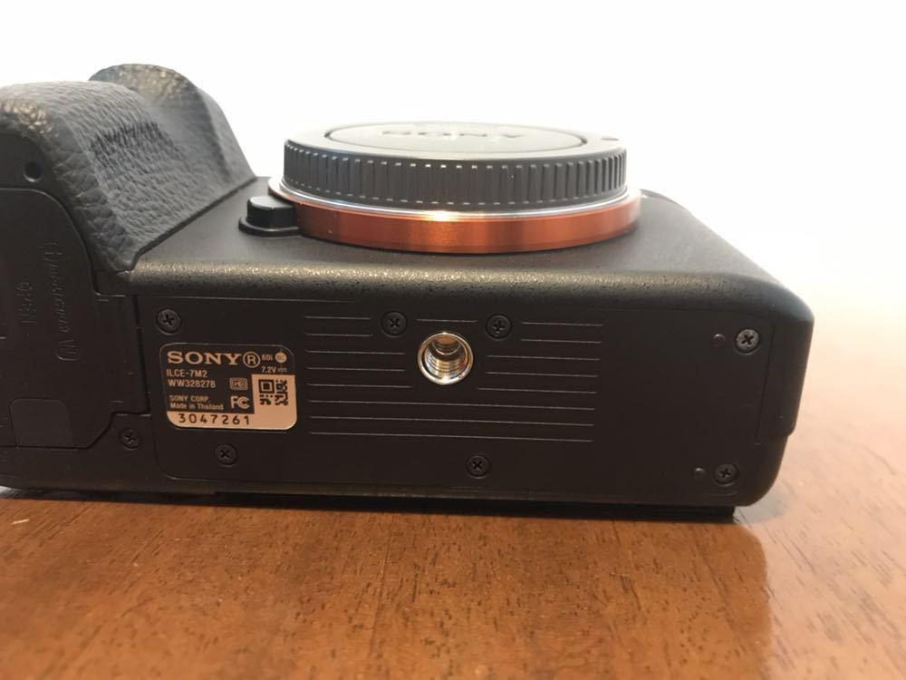 美品 SONY α7Ⅱ ボディ ILCE-7M2 デジタル一眼カメラ オマケ多数! ソニー_画像5