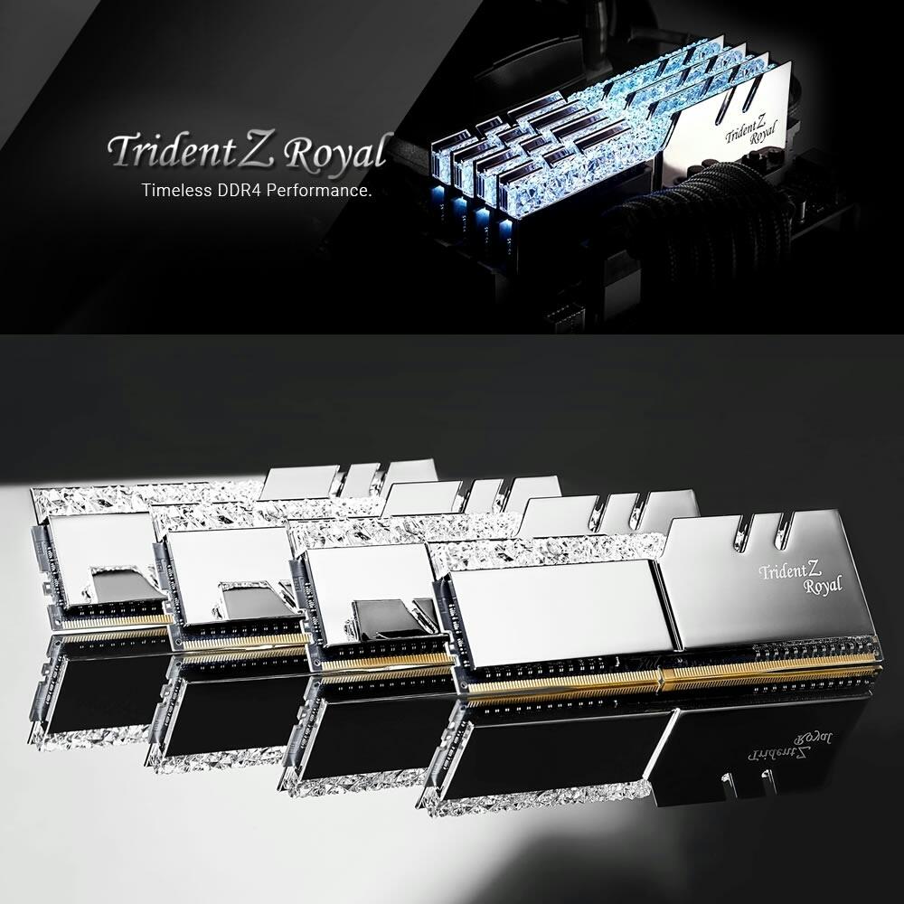G.SKILL TridentZ Royal DDR4 32GB(16gb×2)_画像4
