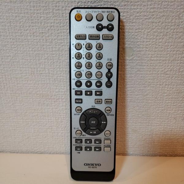 ※ ONKYO RC-827S FR-N7NX FR-N9NX用 リモコン 動作品