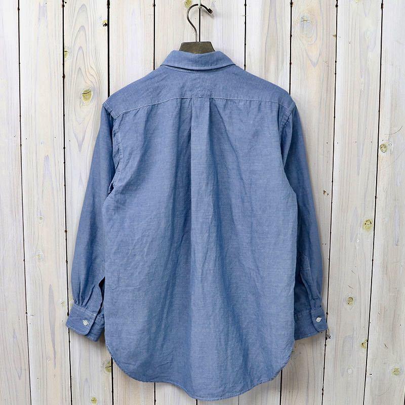 極美 engineered garments 19th B.D Oxford Shirts エンジニアドガーメンツ シャンブレー デニム ダンガリー シャツ S_画像2