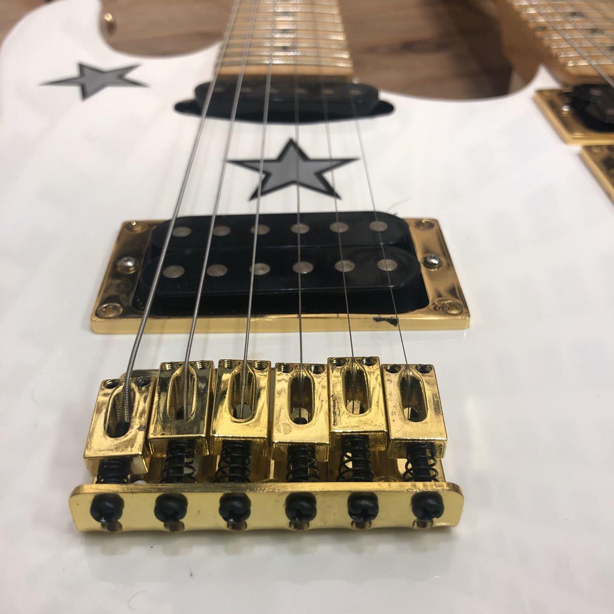 XM☆希少 KRAMER Richie sambora/Bon Jovi signature 激レア ダブルネック エレキギター リッチー・サンボラ モデル FLOYD ROSE搭載 美品_画像5
