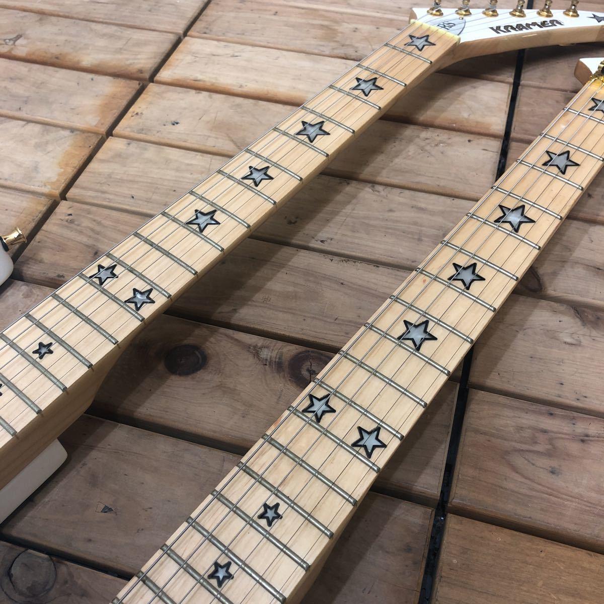XM☆希少 KRAMER Richie sambora/Bon Jovi signature 激レア ダブルネック エレキギター リッチー・サンボラ モデル FLOYD ROSE搭載 美品_画像6