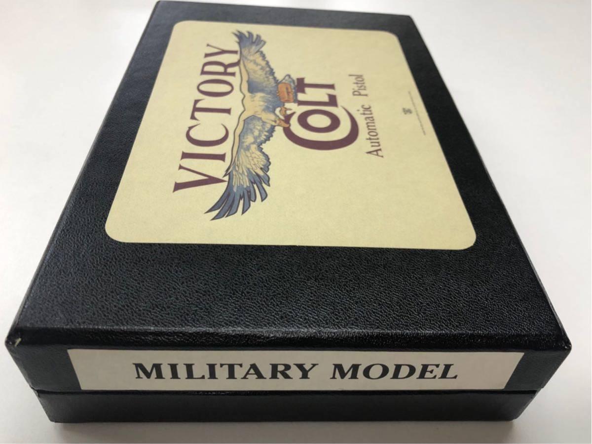 (X/O) THE REAL McCOY'S / VICTORY COLT Automatic Pistol / M1911A1 / 六研 / エラン販売 / リアルマッコイズ M1911 モデルガン _画像2