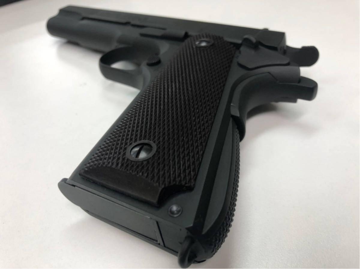(X/O) THE REAL McCOY'S / VICTORY COLT Automatic Pistol / M1911A1 / 六研 / エラン販売 / リアルマッコイズ M1911 モデルガン _画像9