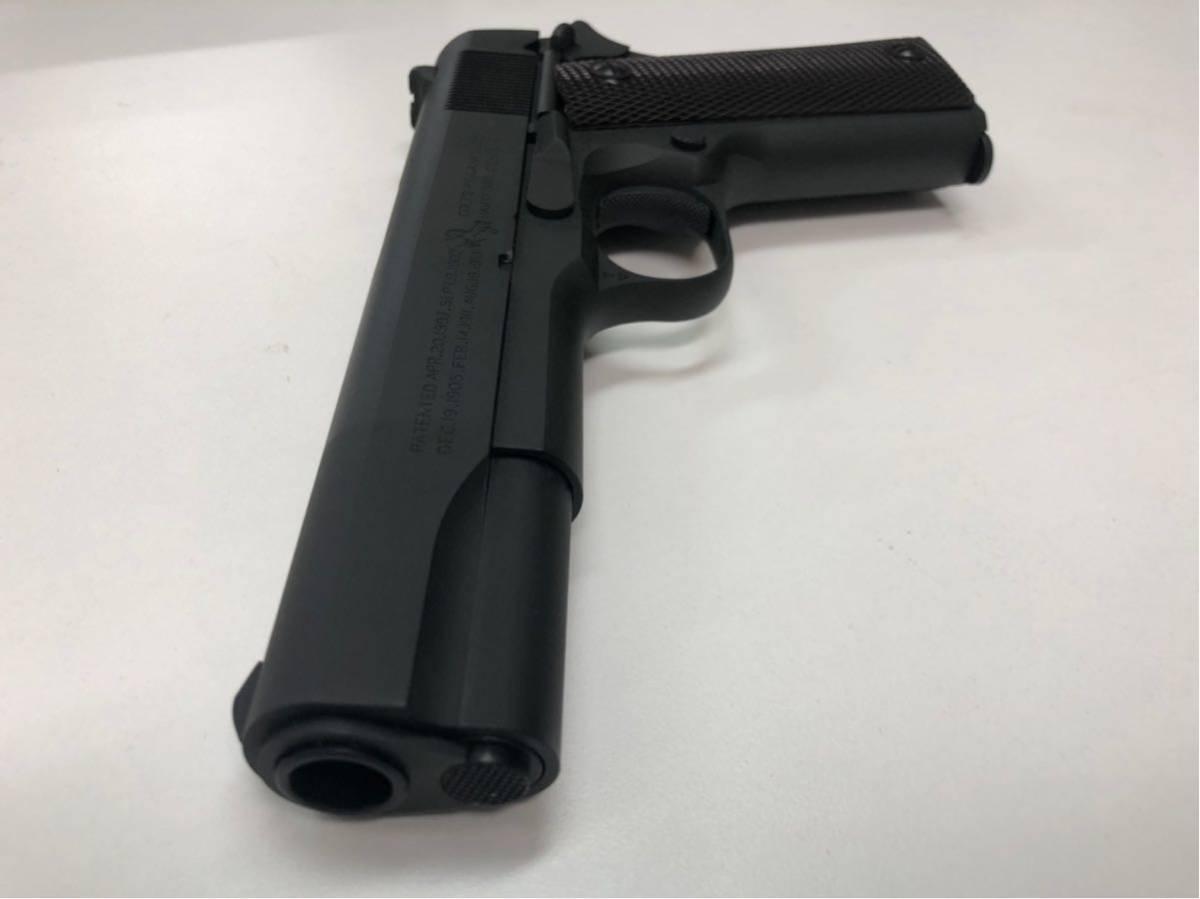 (X/O) THE REAL McCOY'S / VICTORY COLT Automatic Pistol / M1911A1 / 六研 / エラン販売 / リアルマッコイズ M1911 モデルガン _画像7