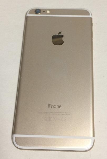 iPhone6 Plus 64GB docomo ゴールド バッテリー100%  送185円 _画像4