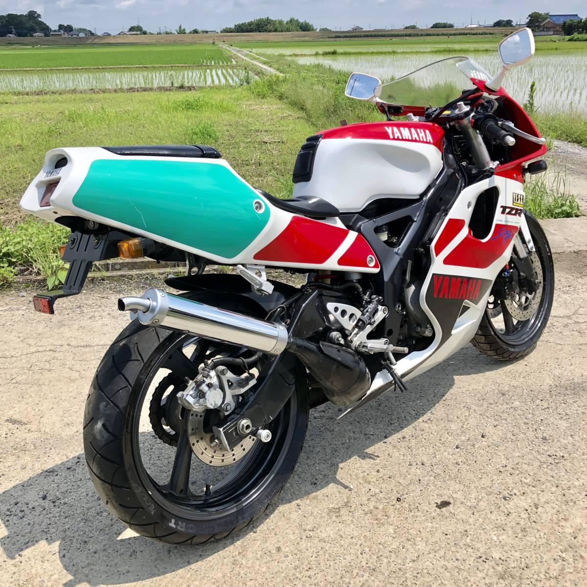 ヤマハTZR250R 3XV 美車 好調 車番600番台 書付き 売り切り1991年 低走行 ホンダスズキカワサキ検)NS TZ RG MVX VT FZR CBR R1Z KR SDR_画像4