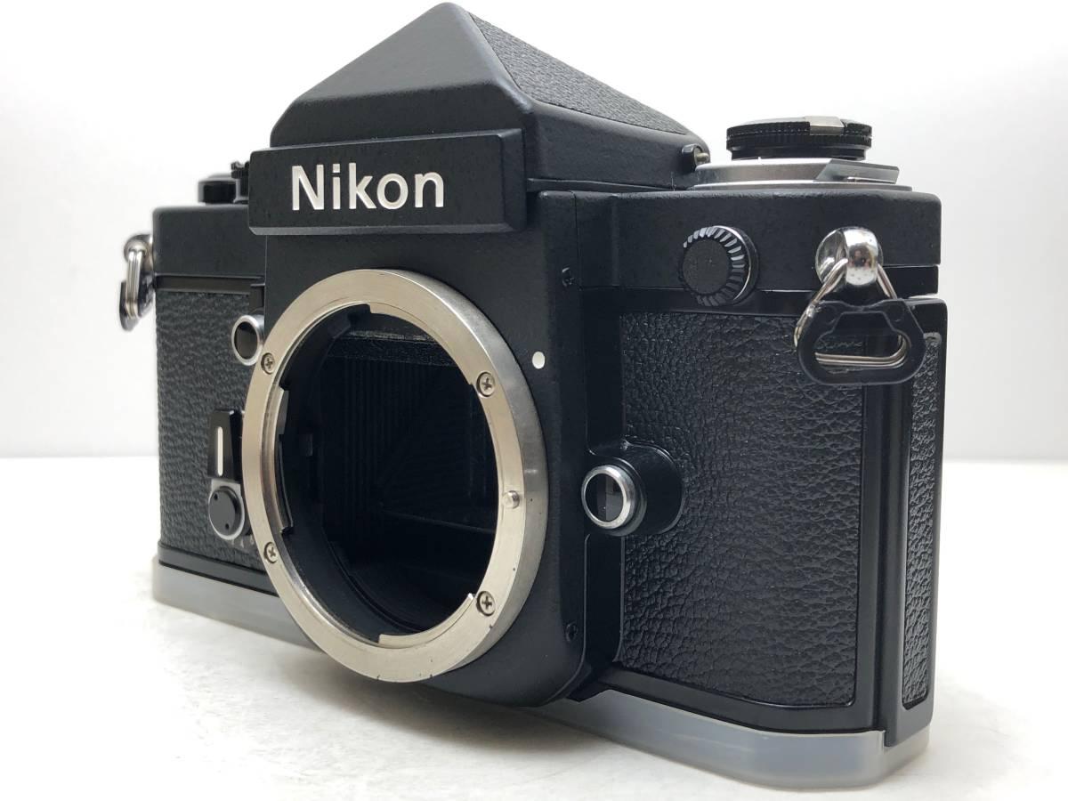 ◆レア!シリアル一致箱◆コレクター級 Nikon ニコン F2 アイレベル TITAN チタン ブラック ノーネーム フィルムカメラ 元箱付き_画像3