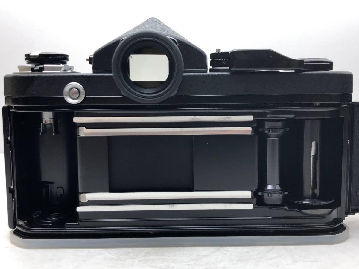 ◆レア!シリアル一致箱◆コレクター級 Nikon ニコン F2 アイレベル TITAN チタン ブラック ノーネーム フィルムカメラ 元箱付き_画像9