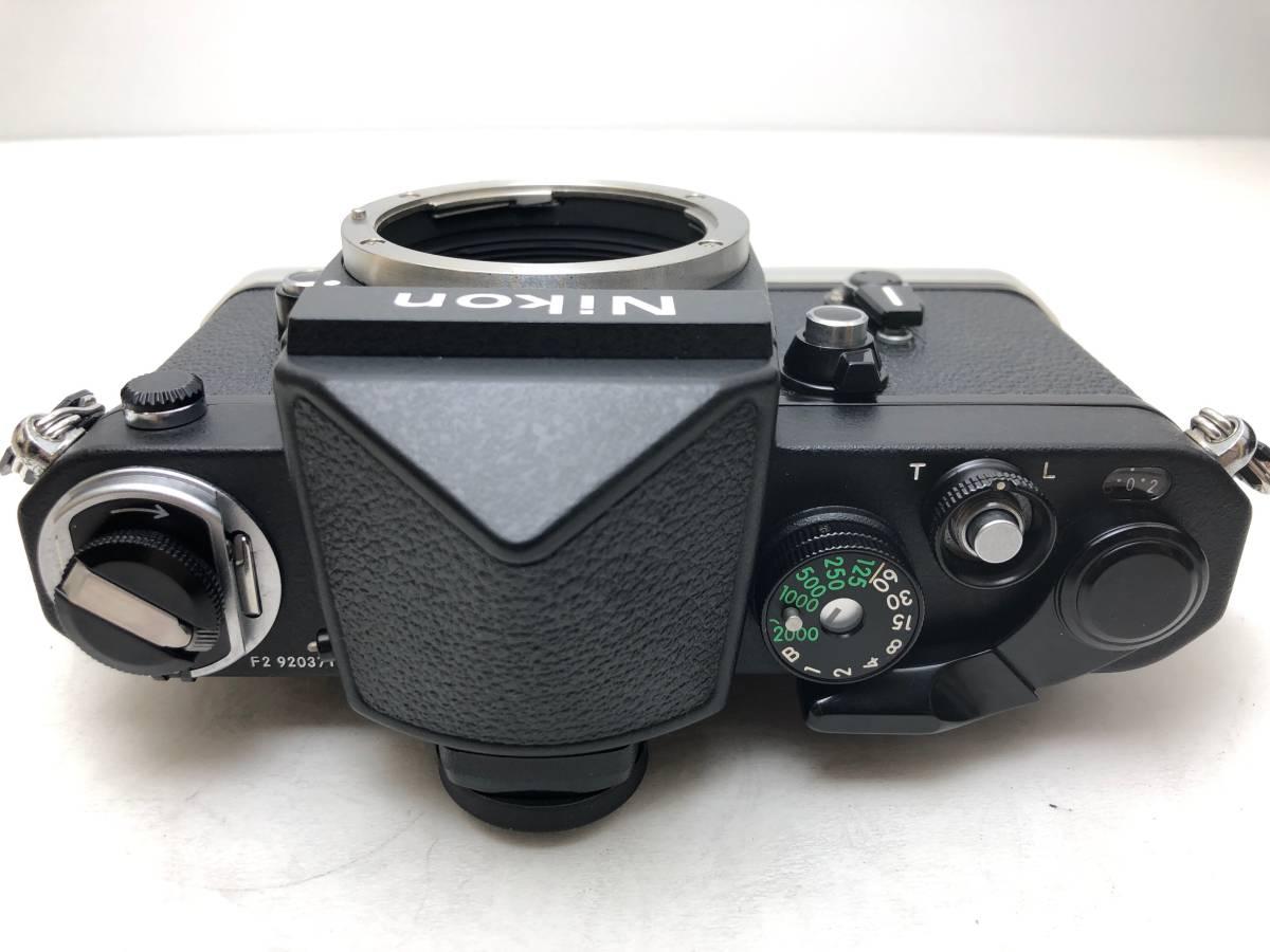 ◆レア!シリアル一致箱◆コレクター級 Nikon ニコン F2 アイレベル TITAN チタン ブラック ノーネーム フィルムカメラ 元箱付き_画像7