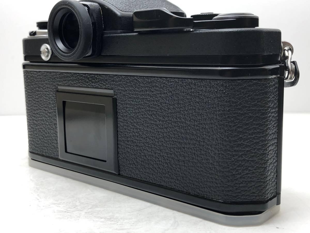 ◆レア!シリアル一致箱◆コレクター級 Nikon ニコン F2 アイレベル TITAN チタン ブラック ノーネーム フィルムカメラ 元箱付き_画像5