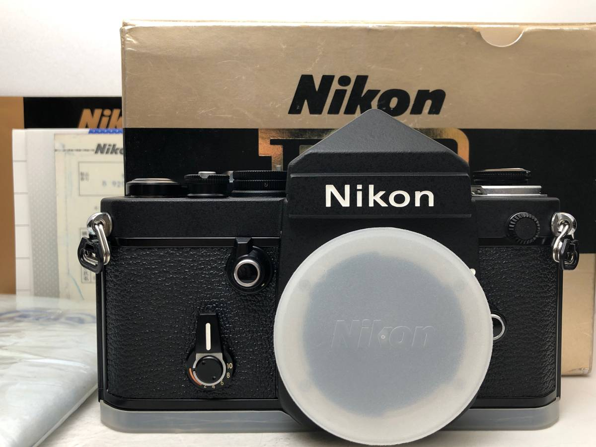 ◆レア!シリアル一致箱◆コレクター級 Nikon ニコン F2 アイレベル TITAN チタン ブラック ノーネーム フィルムカメラ 元箱付き_画像1