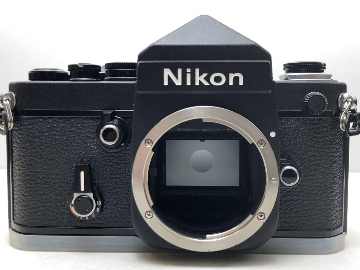 ◆レア!シリアル一致箱◆コレクター級 Nikon ニコン F2 アイレベル TITAN チタン ブラック ノーネーム フィルムカメラ 元箱付き_画像2